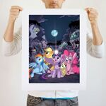 Dark Night art print WeLoveFine