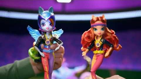 "MLP Equestria Girls - Finland TVC ""Friendship Games"""