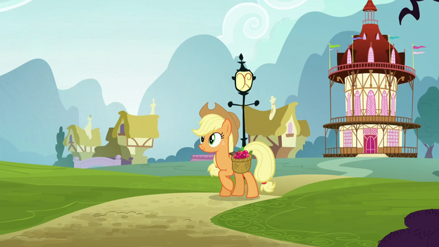 File:Applejack walking while carrying a bag of apples S5E19.png