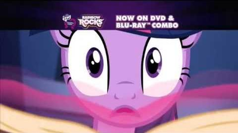 Equestria Girls Rainbow Rocks DVD and Blu-ray Commercial