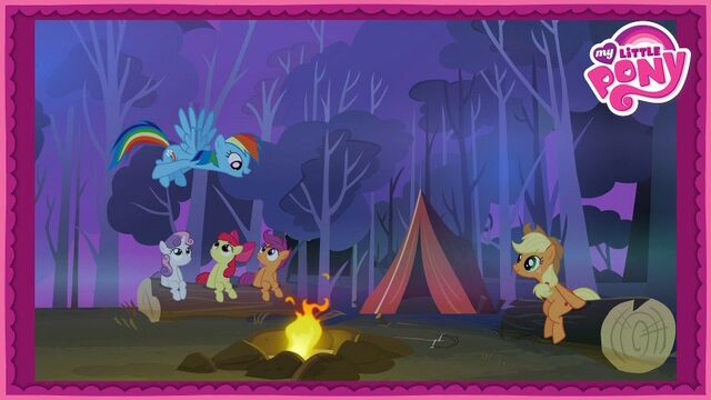 File:Promotional poster - telling stories around the campfire S3E6.jpg
