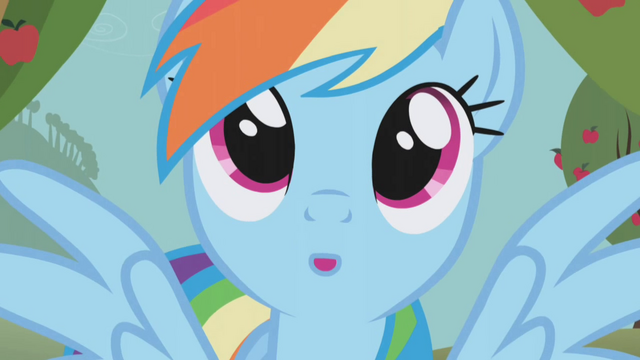File:Rainbow Dash day dreaming S1E3.png
