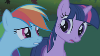 Twilight Rainbow Dash break thought S1E2