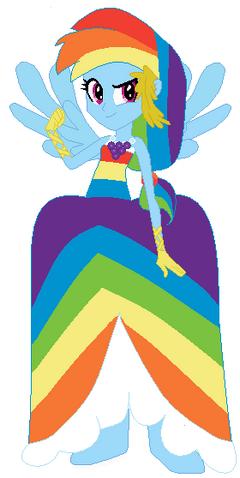 File:FANMADE Rainbow Dash Human Gala.png
