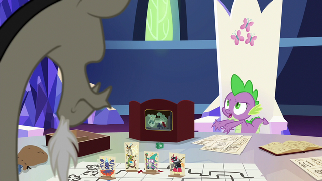 "File:Spike ""you were just standing there, all alone!"" S6E17.png"