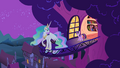 Celestia at the end of the balcony S2E3.png
