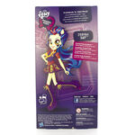 Friendship Games School Spirit Indigo Zap doll back of packaging