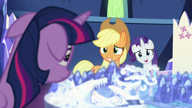"File:Rarity ""shame you weren't called as well"" S5E16.png"