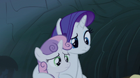 Rarity this is not scary S3E6