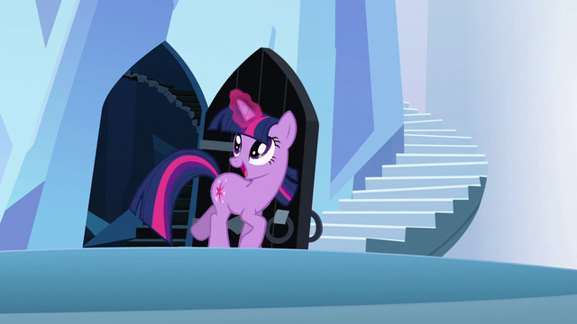 File:Twilight happily going through the door S3E2.png