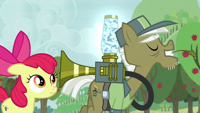 """File:Pest pony """"I'm sure you've got the touch"""" S5E04.png"""
