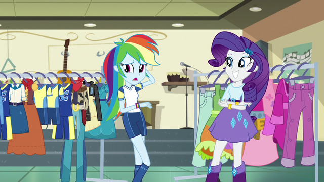 "File:Rainbow Dash ""You really didn't have to"" EG3.png"