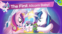 Alicorn Baby Flurry Heart Hasbro Toy Fair 2016 presentation