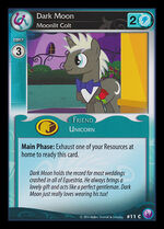 Dark Moon, Moonlit Colt card MLP CCG