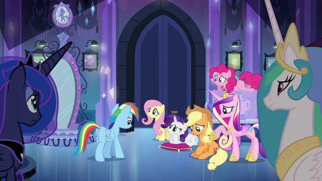 File:Main 5 and princesses waiting for Twilight EG.png
