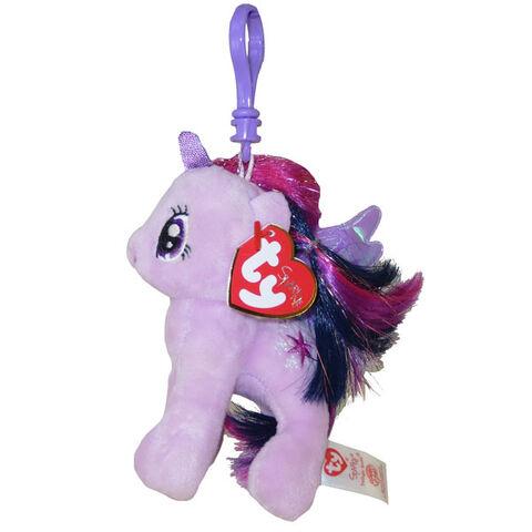 File:Twilight Sparkle Ty Beanie Baby Tinsel keychain.jpg
