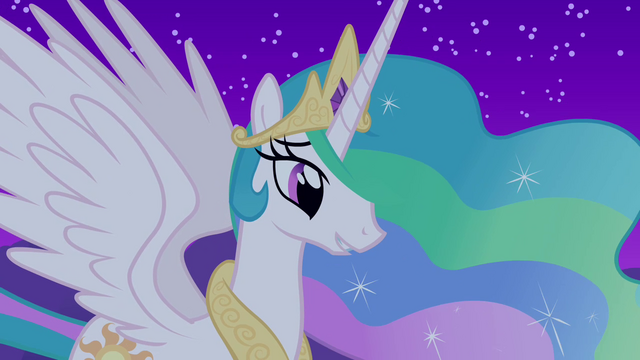"File:Celestia ""since you've come to Ponyville"" S03E13.png"