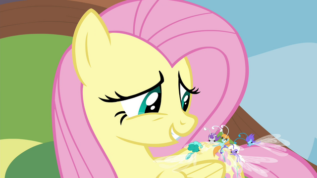 "File:Fluttershy ""you're excused"" S4E16.png"