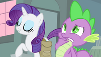 """Rarity """"could use a little more glamor"""" S4E23"""