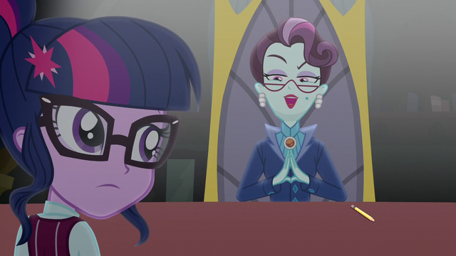 "File:Cinch ""Canterlot High is undergoing"" EG3.png"
