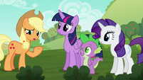 """Applejack """"didn't realize there were any problems"""" S6E10"""