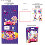 EG Friendship Games Canal Toys-MLPEG Nail Stickers