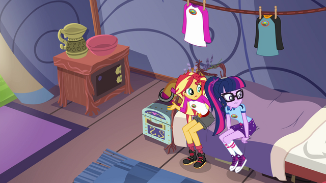 File:Sunset Shimmer sits next to Twilight EG4.png