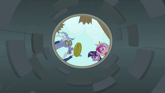 File:Discord dropping a coin into a well S4E11.png