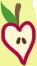 Apple Bloom apple heart cutie mark crop