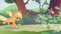 Applejack herding parasprites S1E10