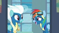 Rainbow Dash being overconfident S6E7