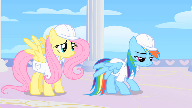 File:Rainbow Dash looks sad after Dumb-bell, Hoops, and Score laugh at her in the rainbow room S1E16.png