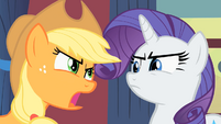 Rarity and Applejack S1E21