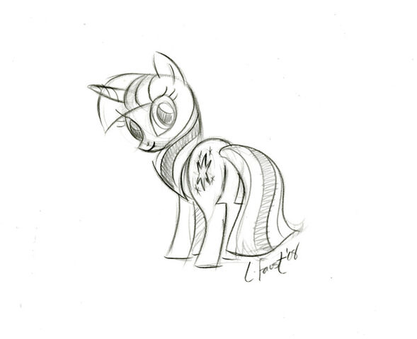 File:TwilightSparkle Sketch.jpg