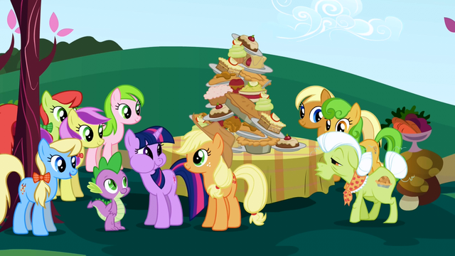 File:Twilight Sparkle meeting the Apple family S01E01.png