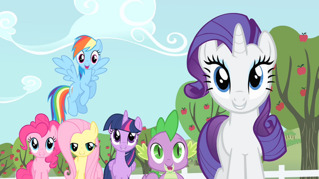 File:Applejack's friends amazed S4E07.png