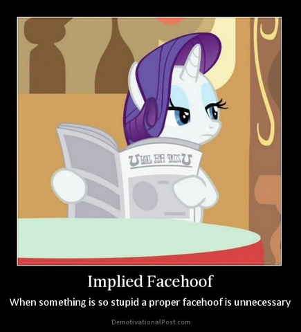 File:FANMADE Rarity newspaper facehoof.png