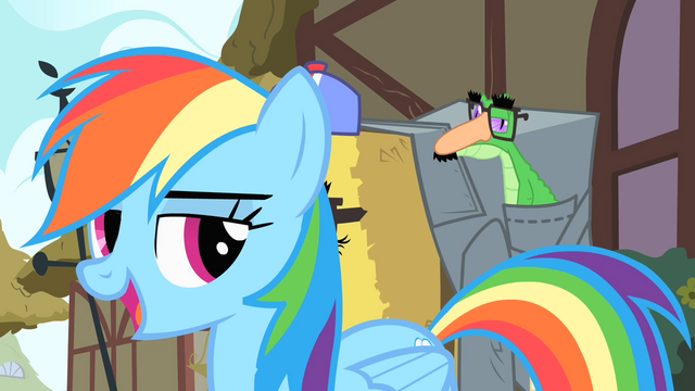 File:Rainbow Dash 'Hi, Pinkie Pie' S1E25.png