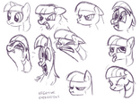 Twilight negative Expressions Sketches