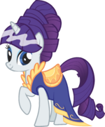Canterlot Castle Rarity 3