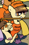Comic issue 11 Filly Wild Fire