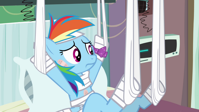 File:Rainbow Dash growing suspicious S4E10.png