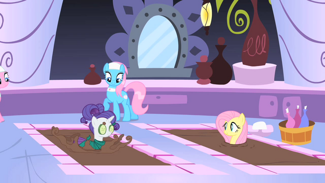 File:Rarity and Fluttershy getting a seaweed wrap S1E20.png