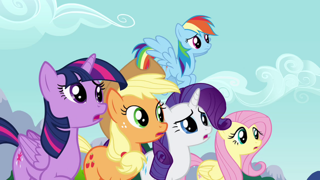 File:Main cast stops Pinkie from leaving S4E12.png
