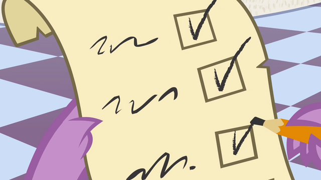 File:Spike checking a checklist S4E01.png