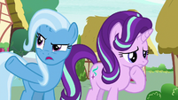 "Trixie ""as the rest of Equestria is"" S6E25"