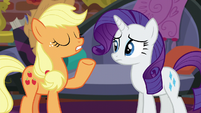 "Applejack ""start doing what we can"" S5E16"