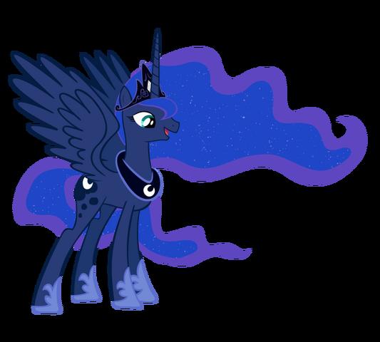 File:FANMADE Princess Luna full magic by draikjack.png