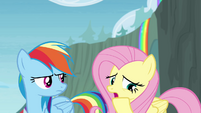 Fluttershy 'At least, I hope he's okay' S4E10