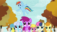 "Rainbow Dash ""Keep it up"" S05E05"